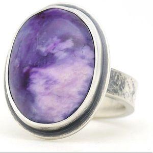 OOAK NWOT Artisan Sugilite Ring